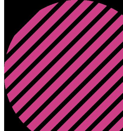 circle pink overlay