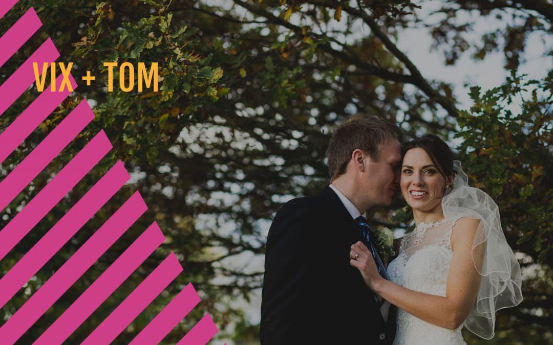 Northamptonshire Wedding Photographer | Farm Wedding | Vix + Tom