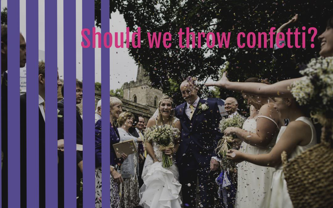 Should we throw confetti?