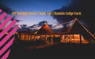 Bawdon Lodge Farm wedding | Sami Tipi | VIP Starlight Social