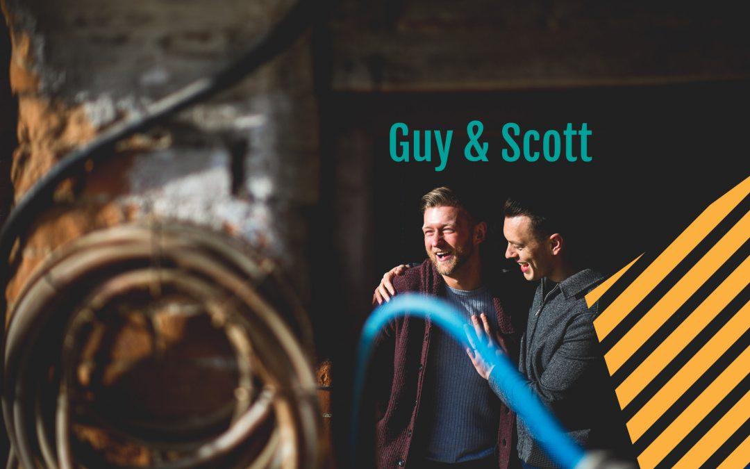 Northamptonshire Wedding Photographer | Farm prewedding shoot | Scott + Guy