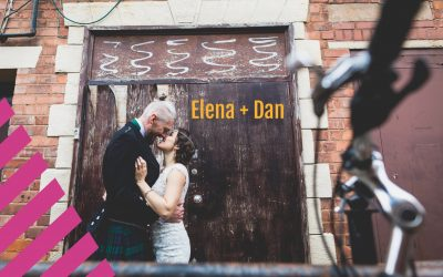 1000 Paper Cranes  | Elena + Dan's crafty Wedding