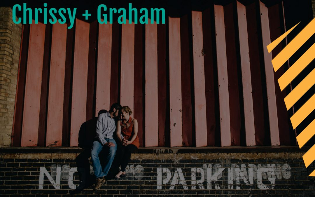An urban prewedding shoot in Kettering