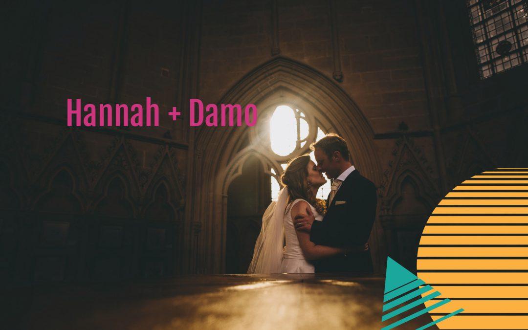Southwell Minster Wedding | Hannah + Damo