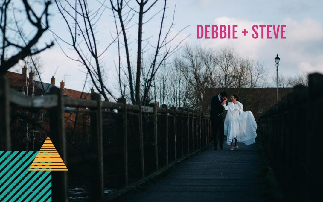 Bride wears ASOS Bridal | Debbie + Steve