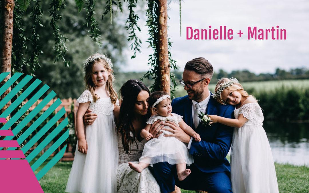 A riverside bohemian wedding | Danielle + Martin