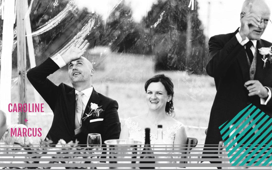 A Papakata Sperry Tent Wedding | Caroline + Marcus