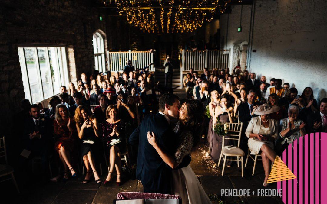 Winter Wedding at Askham Hall | Penelope + Freddie