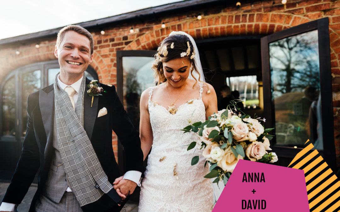 Winter Wedding at Dodmoor House | Anna + David