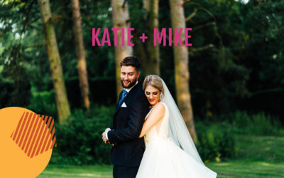 Scorching summer wedding at Rushton Hall | Katie + Mike