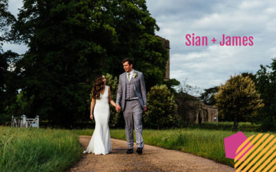 Super Fun wedding at Cranford Hall | Sian + James