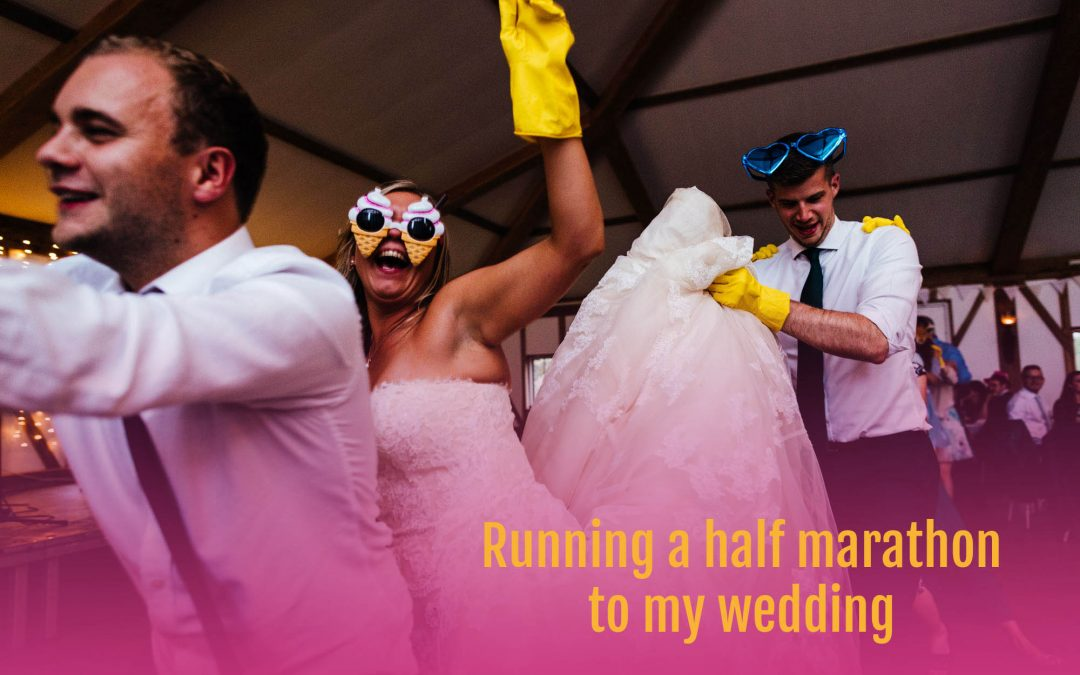 Global Running Day | Running a half marathon to my wedding
