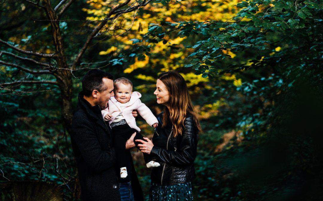Family Photos at the Ashridge Estate
