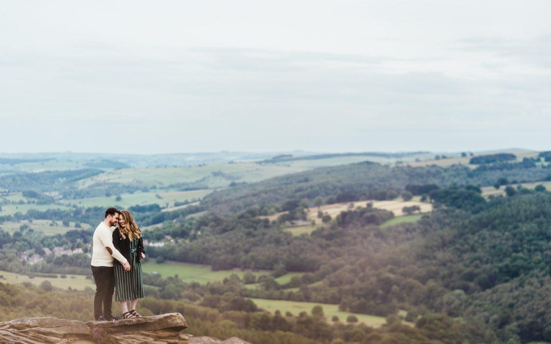 Peak District Pre-Wedding Photography | Em + Will