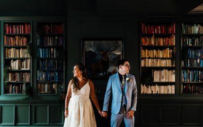 A joyful wedding at Kindred London | Anna + Sam